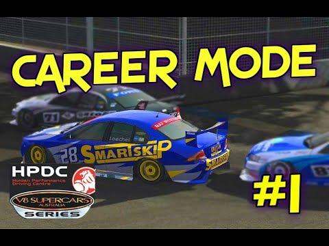 2005 V8 Development Series Career Mode Part 1: Adelaide Race 1