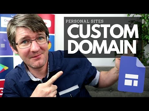 How to map a Custom Domain to Google Sites (Personal Account) | Tips and Tricks Episode 25