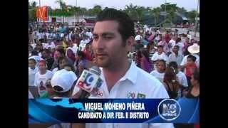 Miguel Moheno, Visita a Villa Ignacio Gutiérrez Gómez y Col. Agrícola El Porvenir