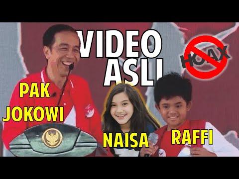 Ngakak, ditanya Presiden Jokowi cita-cita Anak SD ini tak terduga, bukan ganti presiden