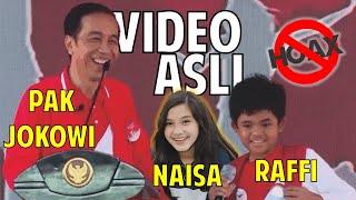 Ngakak ditanya Presiden Jokowi cita cita Anak SD ini tak terduga bukan ganti presiden