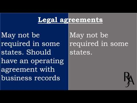 Difference between llc and llp