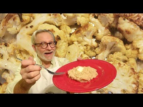 patates-pilÉes-keto!-la-meilleure-recette-de-chou-fleur-rÔti!-avec-les-macros