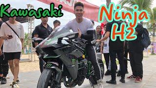 Đi Z300 Cố Gắng Đuổi Theo Ninja H2 Trong Đại Hội Moto PKL ở Hạ Long và Cái Kết | Tới Tài Tử
