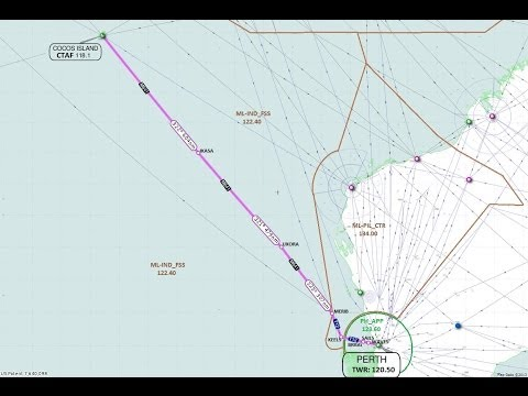 "Vatpac ""Sochi Tour"" Perth to Cocos/Keeling Island on Vatsim"