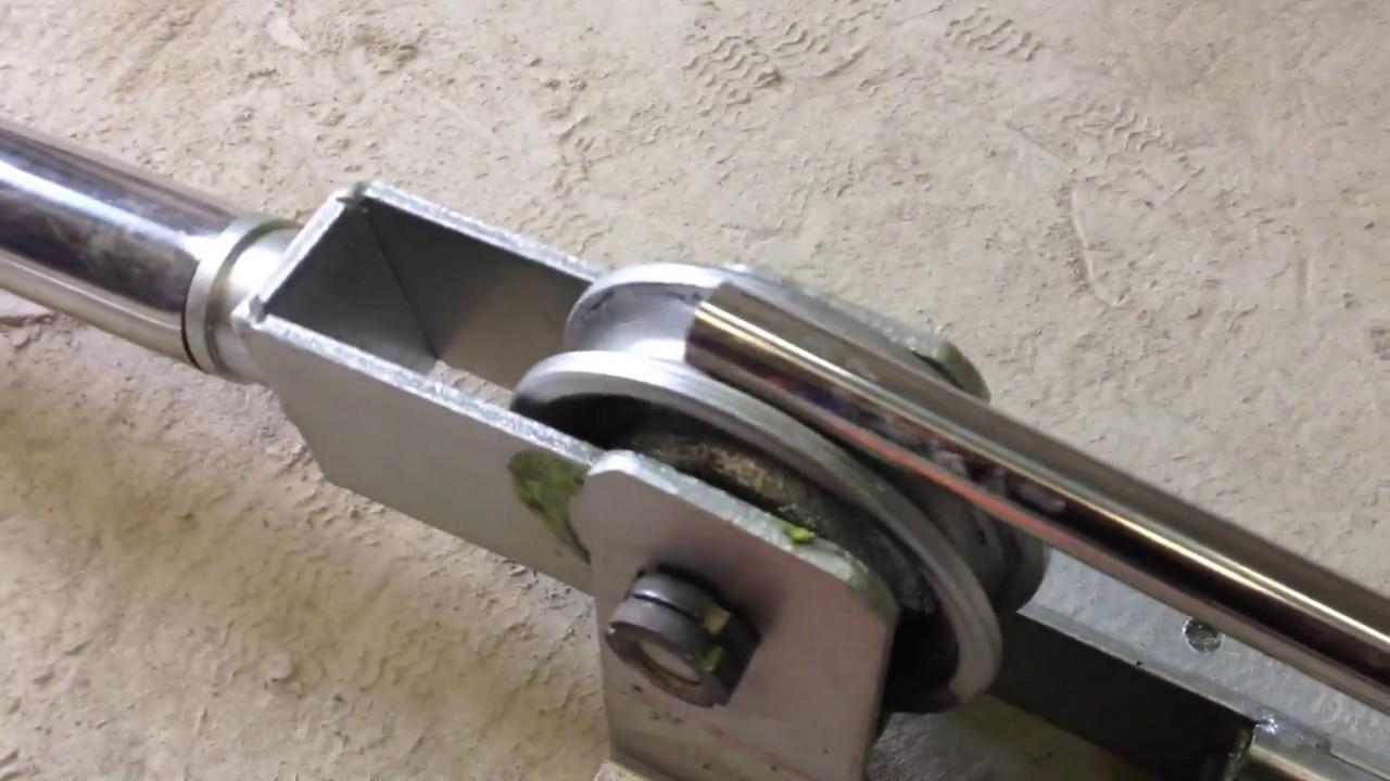 Трубогиб для тонкостенных труб D25мм.wmv - YouTube