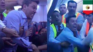 Pria mabuk menyerang penumpang dan kru penerbangan Meksiko - TomoNews