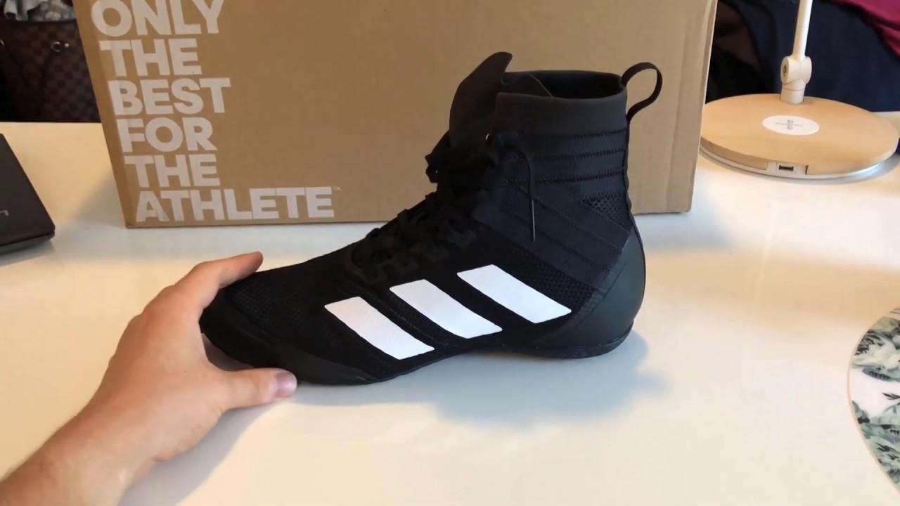 Adidas Speedex 18 Boxing Boot - Review