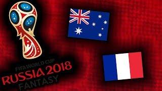 2018 RUSSIA FANTASY VB | FRANCIAORSZÁG - AUSZTRÁLIA