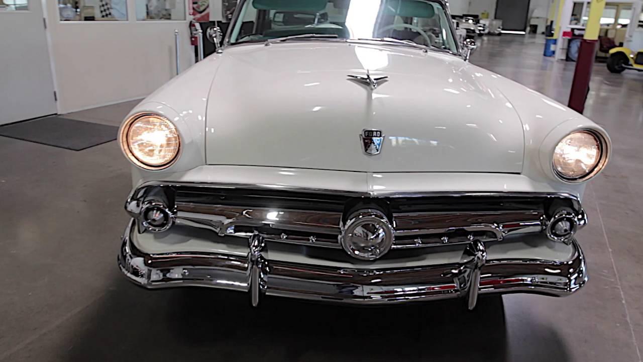 1954 Ford Crestline Skyliner Victoria 2 Door Hardtop Youtube Crown