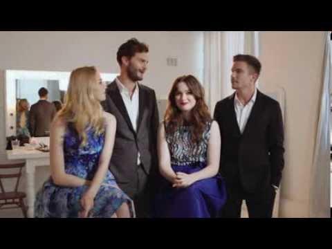 Glamour UK  Jamie Dornan & the cast of New Worlds