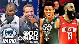 NBA - James Harden or Giannis Antetokounmpo for MVP?