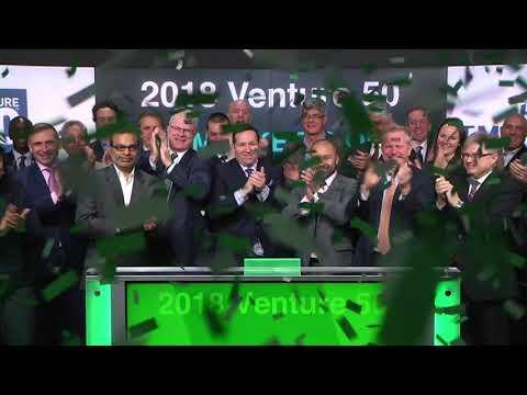 2018 Venture 50 opens Toronto Stock Exchange, February 22, 2018
