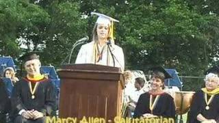 Unique Salutatorian Speech, 2008 Mariemont High School