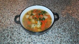 """Суп из бобов маша """"Машхурда"""" / VEGAN"""