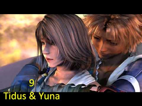 Top 15 Video Game Romantic Couples Youtube