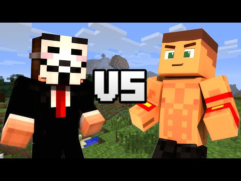 Hacker VS. John Cena - Minecraft