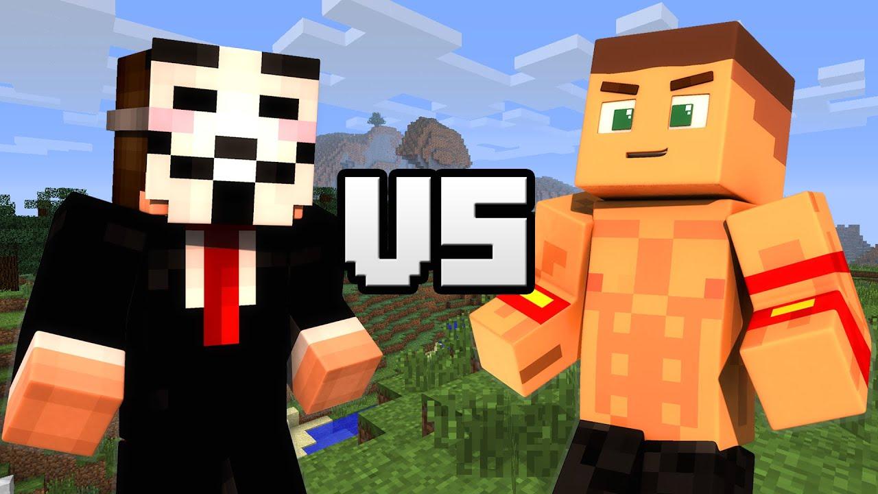 Hacker VS. John Cena - Minecraft