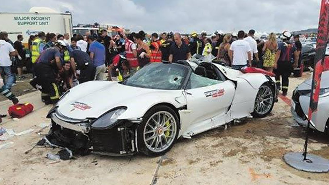 2018 porsche spyder 918. unique porsche latest car accident of porsche 918 spyder  road crash compilation  auto 2016 2017 2018 on porsche spyder