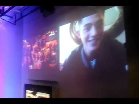 Greyson Chance skyped with Indonesian Enchancers