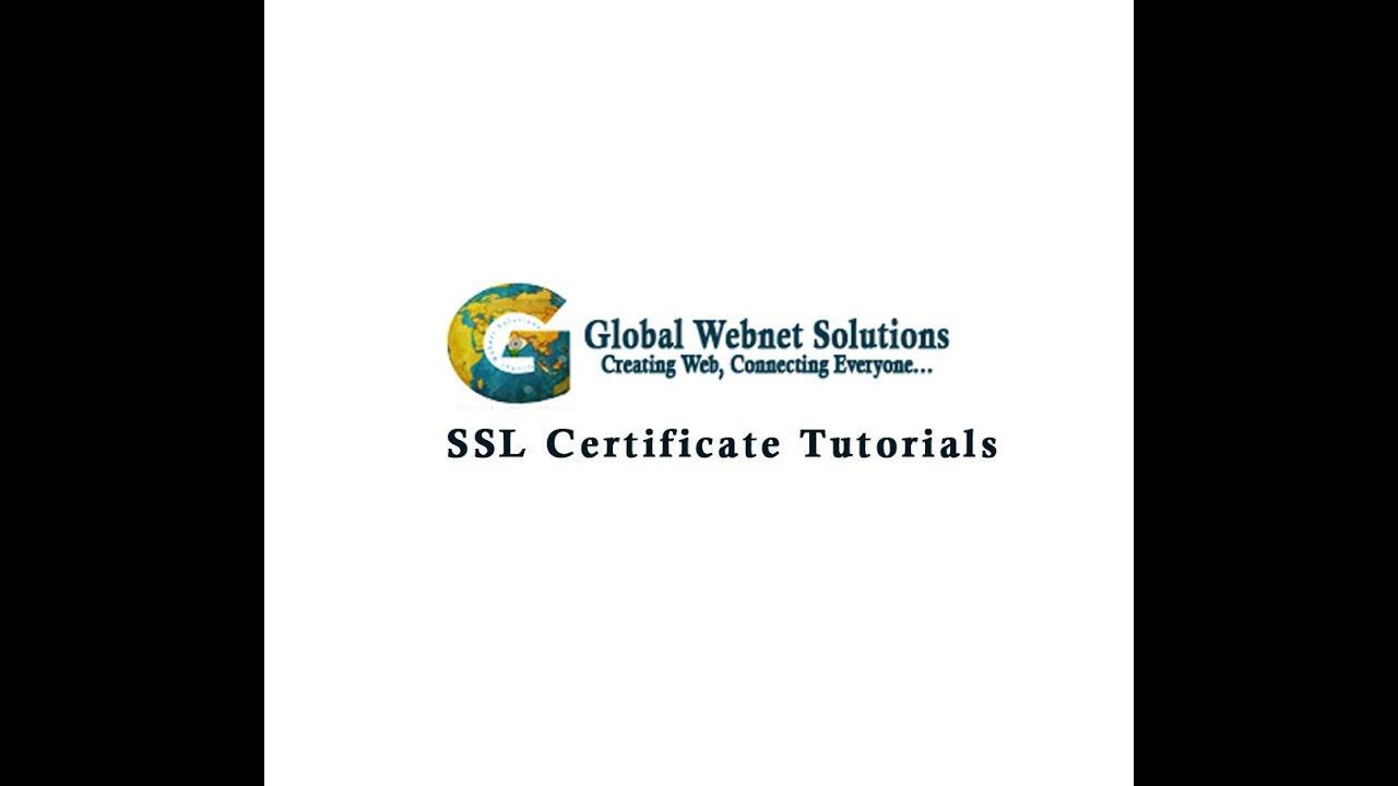 Part 1 ssl certificate type of ssl certificate youtube part 1 ssl certificate type of ssl certificate xflitez Images