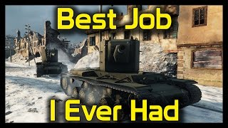 """► World of Tanks IS-3 and KV-2: """"Best Job I Ever Had"""" - IS-3 and KV-2 Gameplay"""