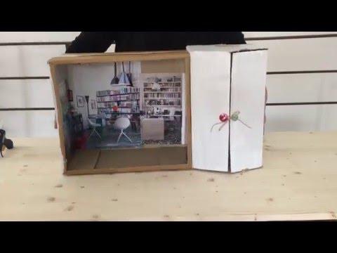 Tutorial casa per le bambole comieco faidate youtube - Costruire mobili in cartone ...