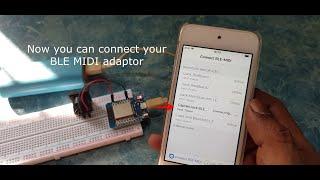 EP.06 สร้างDIY MIDI to BluetoothLE MIDI Adaptor #ESP32  #Arduino #BLE #MIDI