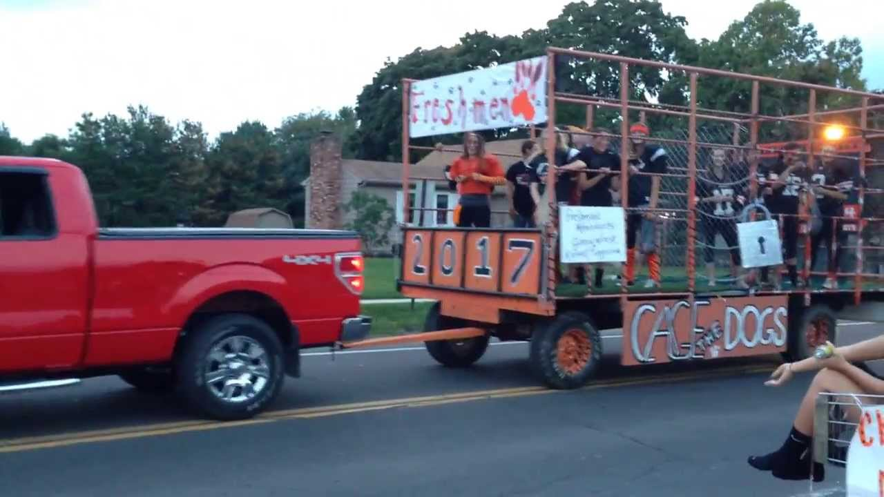 Springfield Tigers Homecoming Parade New Middletown Ohio YouTube - Shriners car show middletown ohio