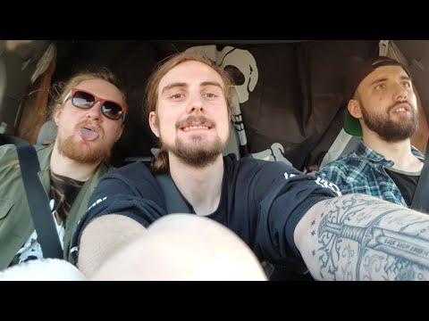 3 Wide Boys In A Van