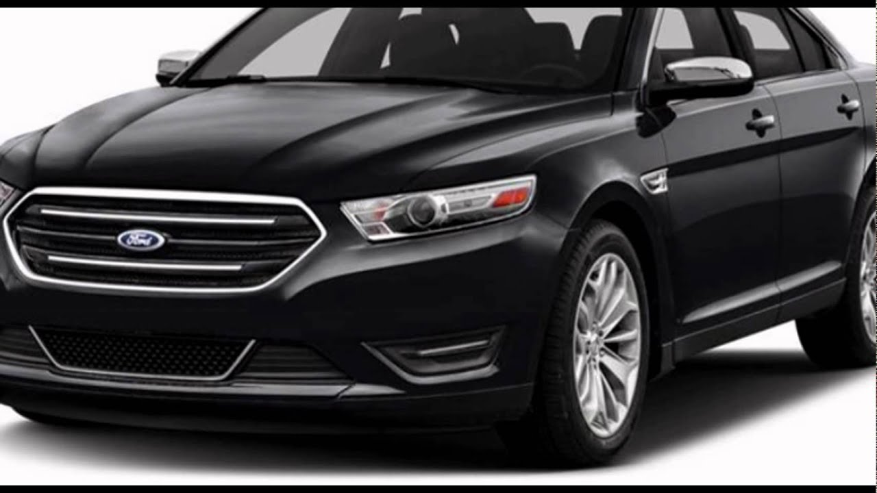 2016 Ford Taurus SE Shadow Black  YouTube