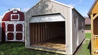 New 12x24 Derksen Z-metal Garage At Big W's Portable Buildings