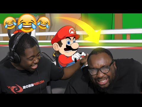 Racist Mario REACTION @Flashgitz **CRYING from LAUGHTER**