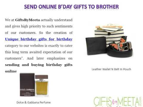 Good Online Birthday Day Gifts For Brother At Giftsbymeeta