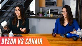 Dyson Supersonic hairdryer vs. regular Conair