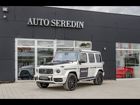MERCEDES-BENZ G 63 AMG MY 2020  BRABUS 800 WIDESTAR 800 HP from AUTOSEREDIN GERMANY