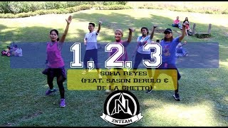 1,2,3 by Sofia Reyes ft. Jason Derulo & De La Ghetto | Zumba Fitness by zin Kat L. and ZNTeam