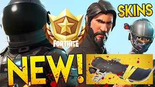 "Fortnite Season 3 Battle Pass Unlocks ""TIER 100! HOVERBOARDS & ALL SKINS REVEALED!"" (BATTLE ROYALE)"