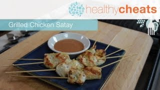 Grilled Chicken Satay | Healthy Cheats With Jennifer Iserloh