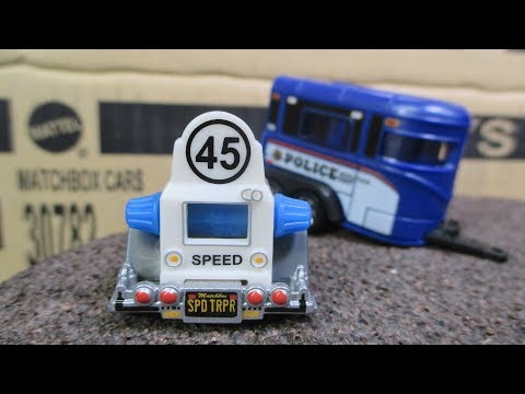 Matchbox 2017 M Case Unboxing Video with bonus Matchbox Police Cars and Speed Trapper