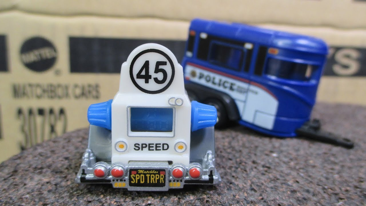 Matchbox 2017 M Case Unboxing Video with bonus Matchbox Police Cars and Speed Trapper - YouTube