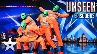 Britain's Got Talent gets INVADED by ALIENS! | Episode 3 | BGT: UNSEEN