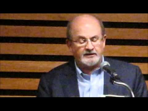 Salman Rushdie at the Toronto Reference Library