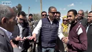 بالفيديو: محافظ سوهاج يتفقد تنفيذ خط الطرد بمحطة مياه الحواويش ويوجه بحل شكاوى المواطنين