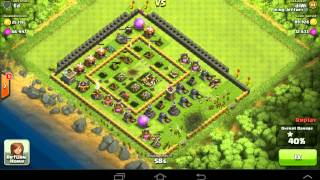 Clash of clans-Why u should not have a square base
