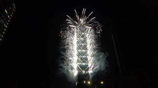 2017 台北101 跨年煙火 Taipei 101 New Year Fireworks [4k HD]