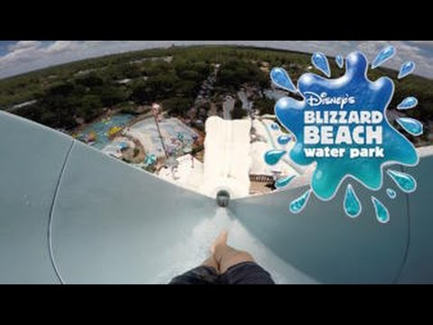 Disney's Blizzard Beach TALLEST Water Slide Vlog! (Walt Disney World)