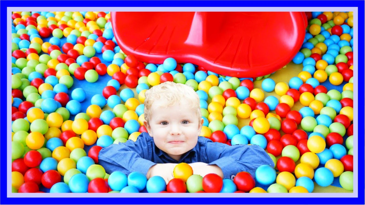 ball pit playground for children indoor play time fun activities for small kids youtube - Small Kids Images