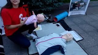 Сердечно- лёгочная реанимация (когда нет пульса и дыхания)-первая помощь мастер-класс