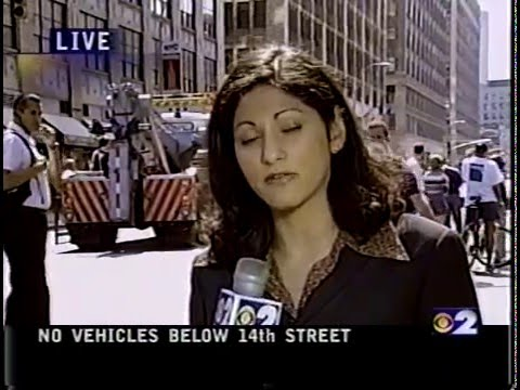 September 12, 2001 - 2 hours - CBS Local News, NYC